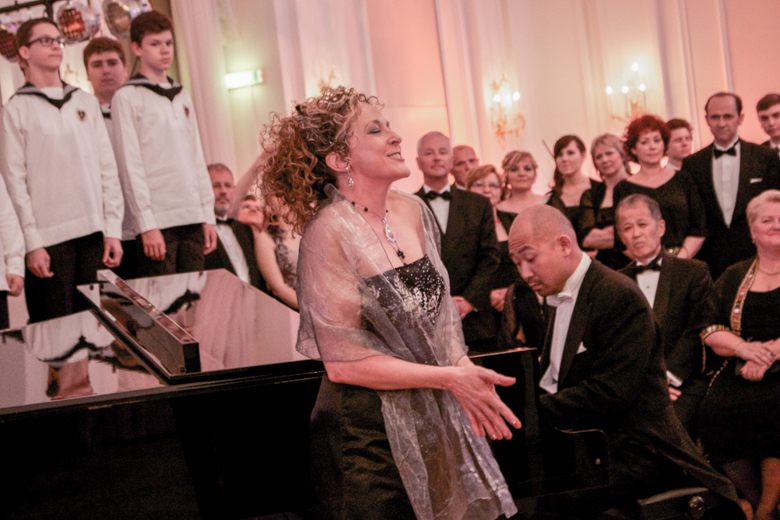 Opening of the Vienna Choir Boys BALL 2015 in Vienna